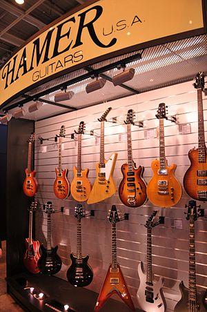 Hamer Guitars - Image: Hamer guitars