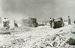 Burma Road (Israel) - Construction of Burma Road