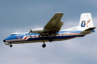 Handley Page Dart Herald - Handley Page Herald of Air UK