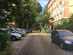 Hans-Sachs-Straße in Hamburg