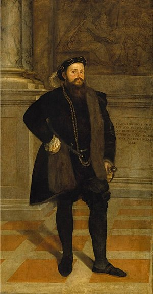 Lambert Sustris - Image: Hans Christoph Vöhlin von Frickenhausen