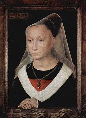 Sibylla Sambetha - Sibylla Sambetha, 1480. Oil on oak, 38cm x 26.5cm
