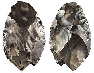 Britain's Secret Treasures - Image: Happisburgh handaxe