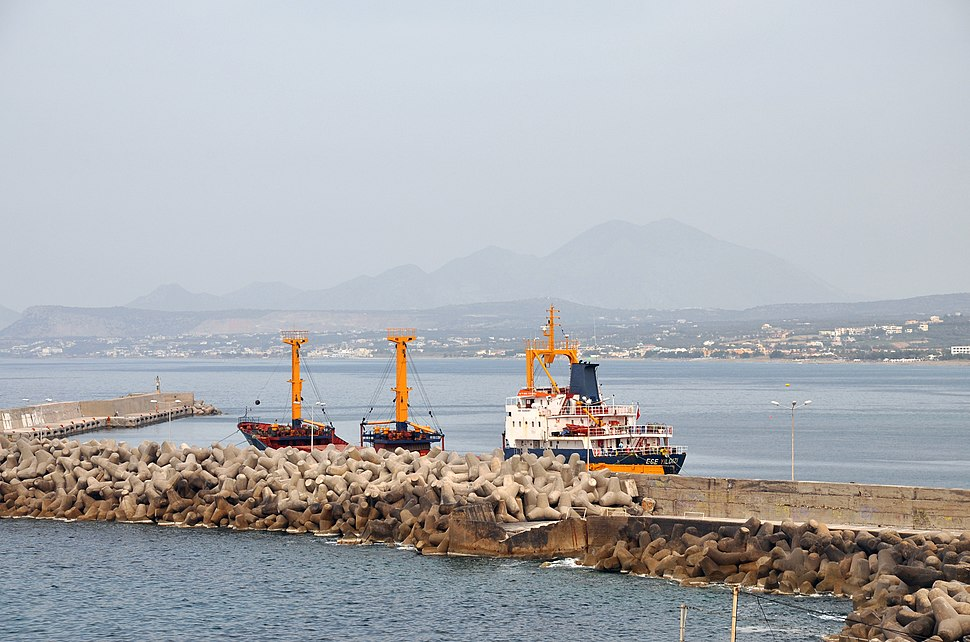 Harbour of Rethymno, Crete, Greece 002
