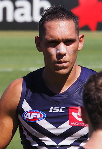 Harley Bennell - Harley Bennell playing for Fremantle in March 2016