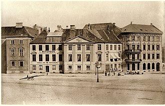 Harsdorff House - The Harsdorff House photographed in 1866