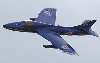 Leading-edge extension - Dog tooth on the wing of a Hawker Hunter