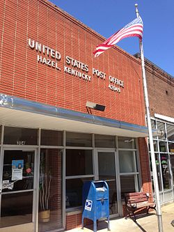 Hazel Kentucky Post Office