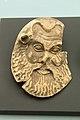 Head of satyr, terracotta. Taranto, 5th c BC, Prague NM-H10 4916, 151991.jpg