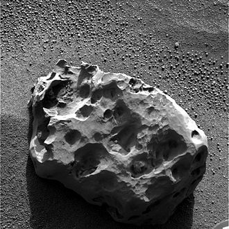 Heat Shield Rock - Image: Heat Shield Rock, Mars