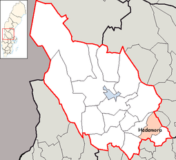 Hedemora Municipality in Dalarna County.png