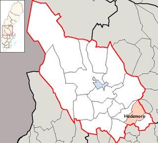 Hedemora Municipality Municipality in Dalarna County, Sweden