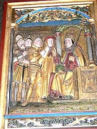 Heilsbronn Münster - Mauritius-Lorenz-Altar 04. jpg