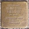 Stolperstein für Heinz Leon Freschel