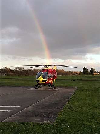 Air ambulances in the United Kingdom - Helimed 03 (Midlands Air Ambulance, RAF Cosford)