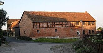 Cremlingen - Historic farm building in Hemkenrode