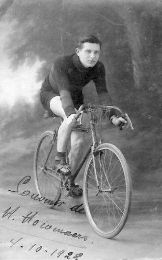 Henri Hoevenaers - Henri Hoevenaars in 1922