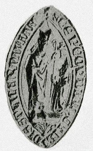 Henry of Holyrood - Bishop Henry's seal