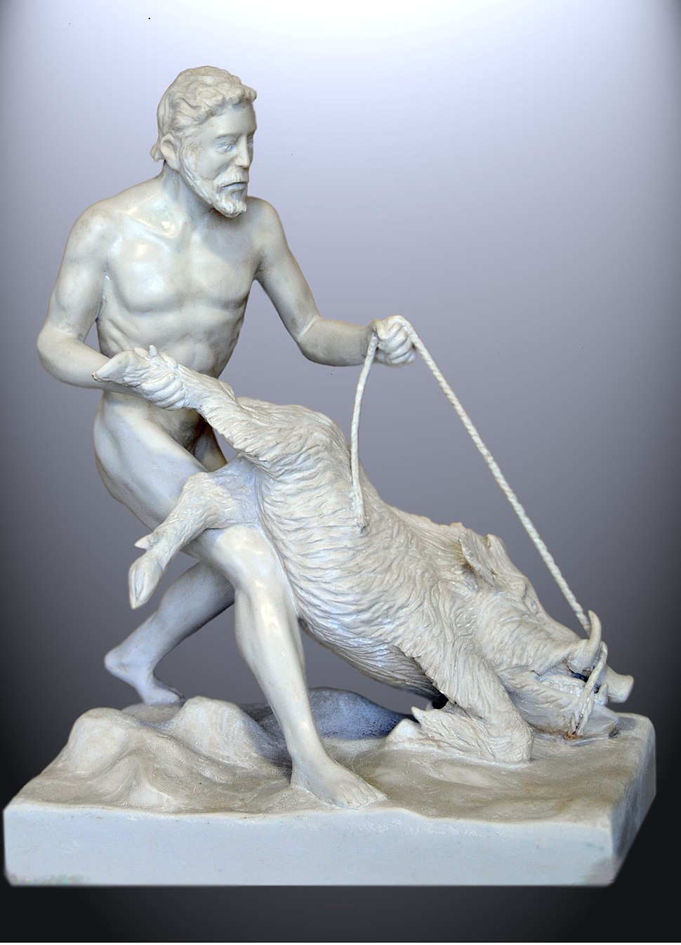 Heracles and the Erymantian boar