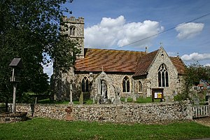 Herringswell - Image: Herringswell Church geograph.org.uk 42019