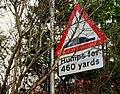 Hidden road sign, Belfast - geograph.org.uk - 1594704.jpg
