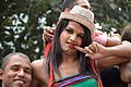 Hijra and Male Participants - Chhath Festival - Strand Road - Kolkata 2013-11-09 4375.JPG