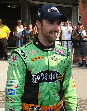 James Hinchcliffe - Hinchcliffe at the 2012 Indianapolis 500