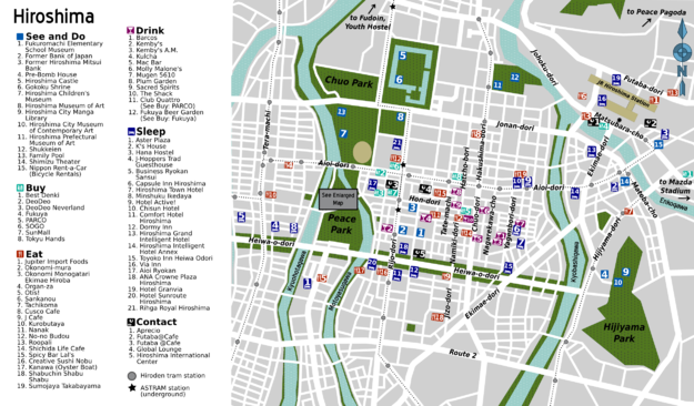 Hiroshima Wikivoyage Le Guide De Voyage Et De Tourisme