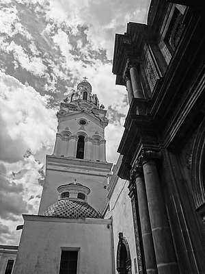 Cathedral of Quito - Image: Historic Center of Quito World Heritage Site by UNESCO Photo 057
