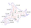 Hokkaido Administration Map TC.png