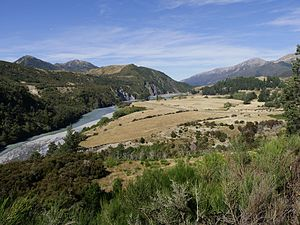 Hope River (Canterbury) - Hope River valley