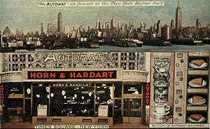 Horn & Hardart - Image: Horn & Hardart Times Square New York circa 1939