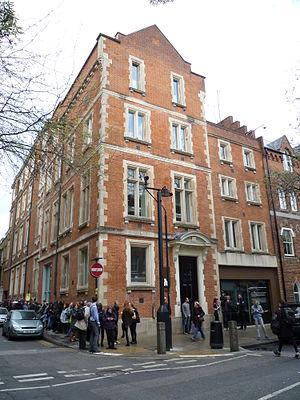 The Hospital Club - The Hospital Club, main entrance