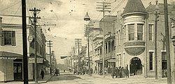 Howard Street Biloxi Mississippi 1906