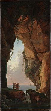 Hubert Robert - The Mouth of a Cave.jpg