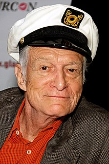 Hugh Hefner American businessman and magazine publisher