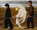 Hugo Simberg (1873–1917)- The Wounded Angel - Haavoittunut enkeli (29568380521).jpg