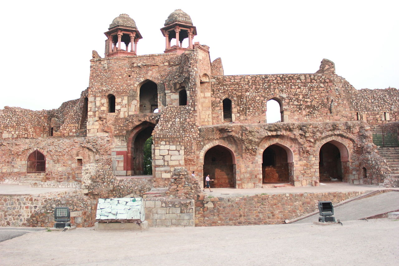 File Humayun Gate Southern Ramparts From Inside Purana