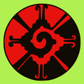 Hunab Ku green-black-red.png