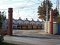Hungaria tram depot, TW 6000, 2018 Józsefváros.jpg