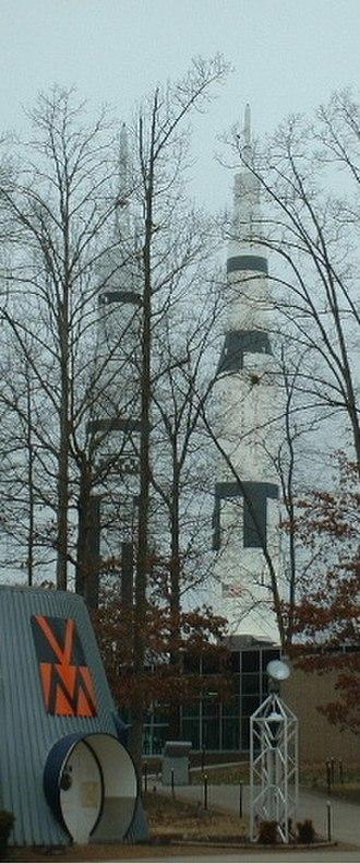 Rocket garden - Image: Huntsville Space Center Rockets