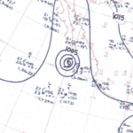 Hurricane Mona surface analysis October 18, 1963.png