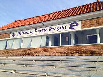 Pittsburg High School (Kansas) - Image: Hutchinson Field
