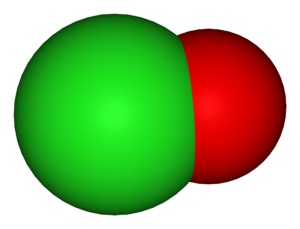 Polyatomic ion - The hypochlorite ion
