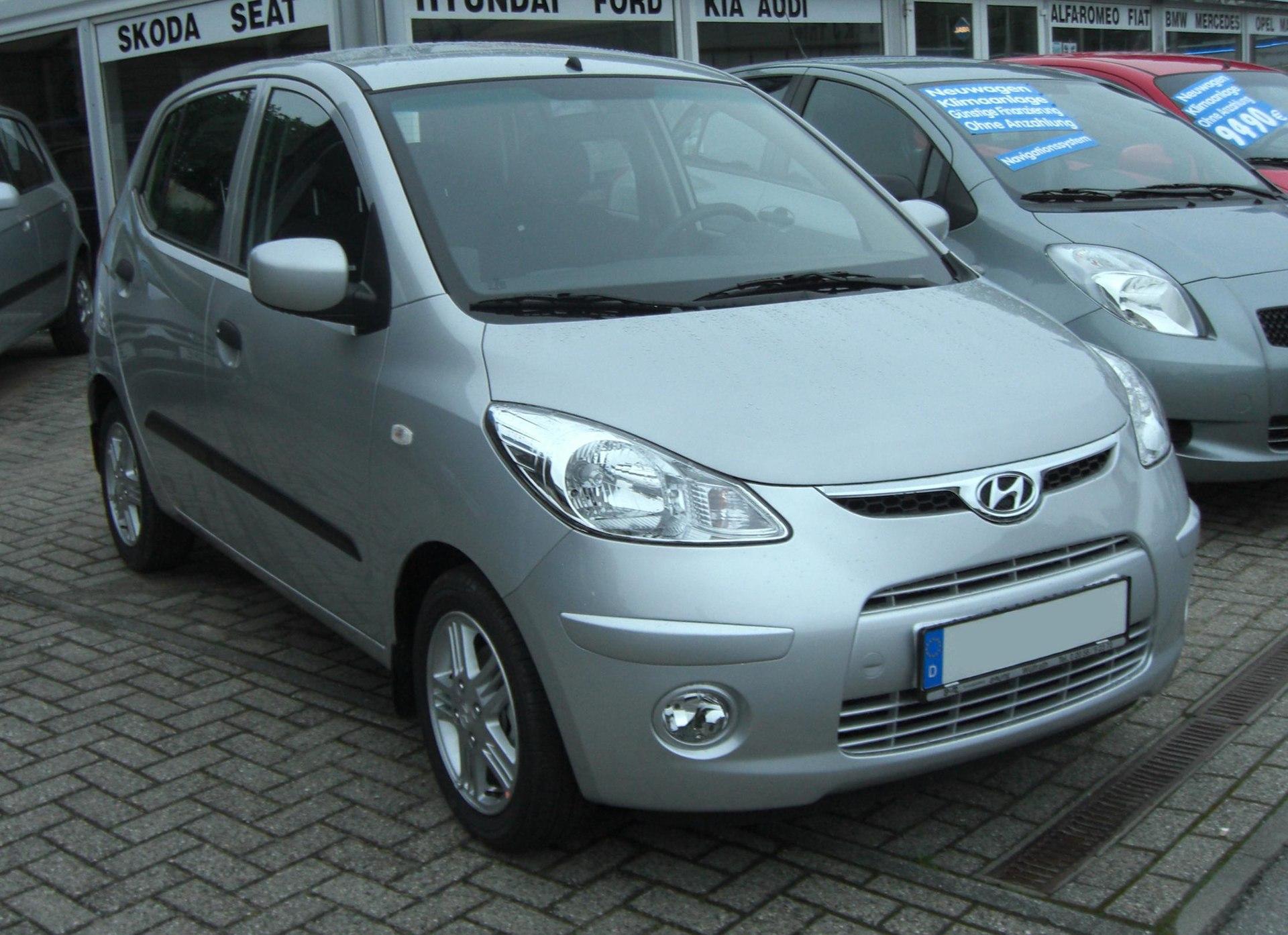 Hyundai i10 - Wikipedia, la enciclopedia libre