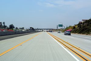 Fontana, California - Foothill Freeway