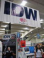 IDW Publishing booth at WonderCon 2010.JPG