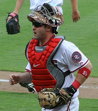 Brian Schneider - Schneider played for the Expos/Nationals from 2000–2007.