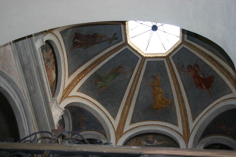 File:IMG 9901 - Milano - Sant'Ambrogio - Cappella S. Marcellina - Cupola - Foto Giovanni Dall'Orto 25-Apr-2007.jpg