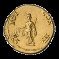 INC-2061-r Ауреус. Веспасиан. Ок. 71 г. (реверс).png